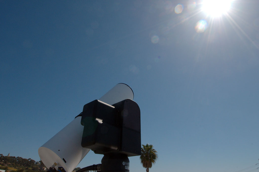 [b]Figure 3b[/b]: The OSPREy OR-L deployed in sun photometer mode.
